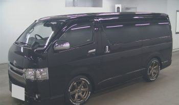 TOYOTA HIACE SUPER GL DARK PRIME 2017 full